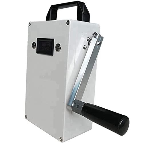 KOIJWWF Generador de manivela de Mano portátil, generador de manivela de 150W, Fuente de alimentación portátil, generador de energía Manual de Emergencia, generador de energía