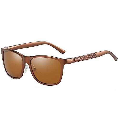 QINGZHOU Gafas De Sol,Gafas De Sol Polarizadas Para Mujer Aluminio Magnesio Montar...