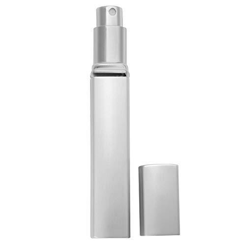 Bouteille Vide De Parfum, Bouteille Rechargeable Portative Bouteille Vide 12Ml De Jet De Parfum Pour Vanity De Lotion De Pompe(Argent)