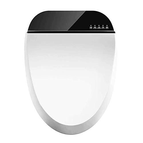 CGGDP Bidet Toilet Seat, Sedile WC Giapponese con Telecomando Senza Fili, Riscaldamento del Sedile E Pulizia Dell'anca Femminile, Autopulente Doppio Ugello,B