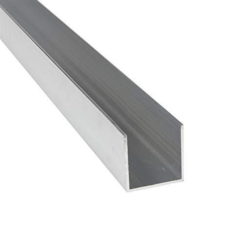 Aluprofil U-Profile 10 x 10 x 10 x 2 mm x 2.000 mm