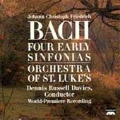 Johann Christoph Friedrich Bach: Vier Frühe Sinfonien