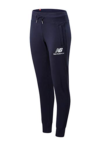 New Balance Essentials Ft Sweatpants Dames Broek Blauw WP91545ECL