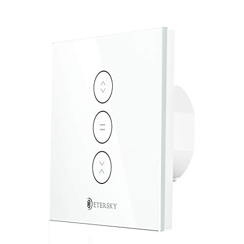 【LED Controlable】Wifi Interruptor Persiana, Etersky...