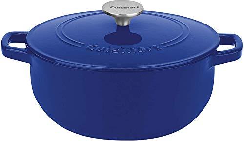Cuisinart Cast Iron Cobalt 55 Quart Round