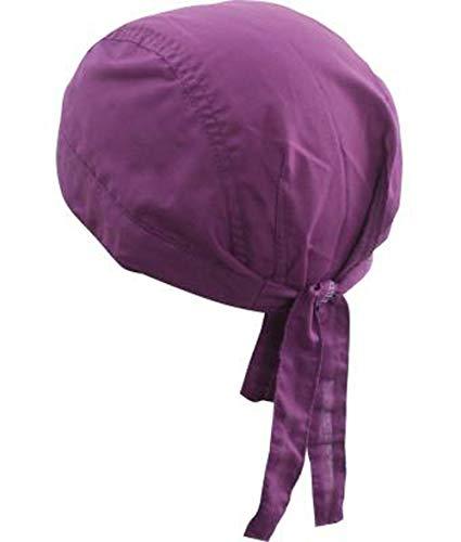 noTrash2003 Design Bandana Cap Mütze Kopftuch für Sport und Freizeit (Purple)