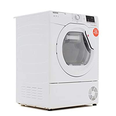 Hoover DXC8DE Tumble Dryer Condenser White 8kg Sensor B Energy Rating Delay Start Digital Display