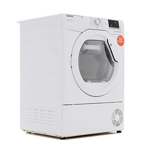 Hoover DXC8DE Dynamic Next Aquavision 8kg Freestanding Condenser Tumble Dryer With One Touch - White