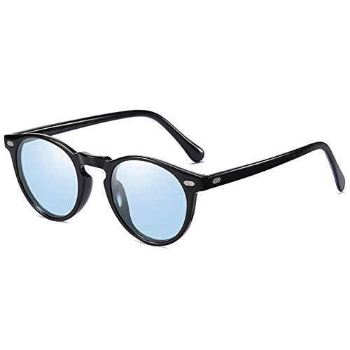 Gafas Deportivas Hombre Gafas de Sol Polarizadas Súper Ligero y Cómodo Anti UVA UV Marco TR90 Lente Espejo, Hombre y Mujer,2
