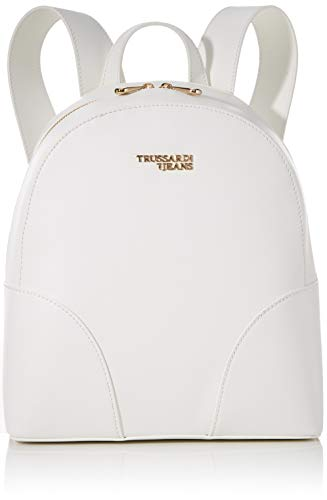 Trussardi Jeans, BELLA BACKPACK MD SAFFIANO ROU Donna, W001, NR