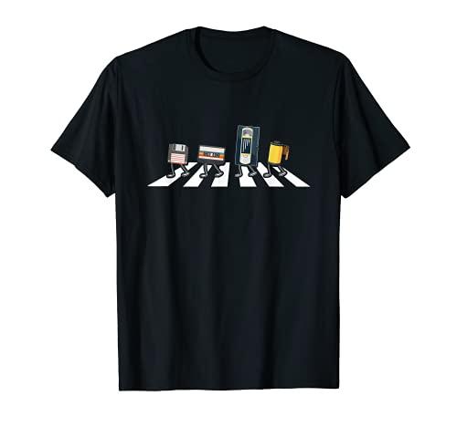 VHS - Cinta de casete para disquetes, diseño retro Camiseta