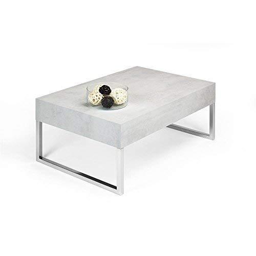 Mobili Fiver Tisch Couchtisch Zement mod. EVO XL