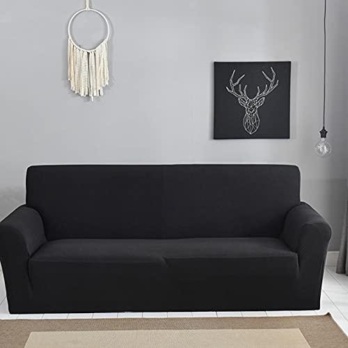 Uxsiya Funda suave elástica antideslizante – arrugas suave y cómoda (asiento individual)