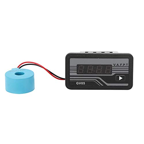 Best Prices! Digital Display Generator Meter, GV05 220V/380V Generator Meter, 4-Digit High-Brightnes...