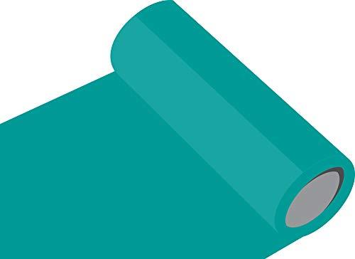 INDIGOS UG Oracal 751 - Orafol Folie 5m Rolle 118 glänzende Farben, 126 cm Folienhöhe türkis - 054 - Küchenschränke, Dekoration, Autobeschriftung, Wandschutzfolie, Möbel, Aufkleber, Küche, Bad