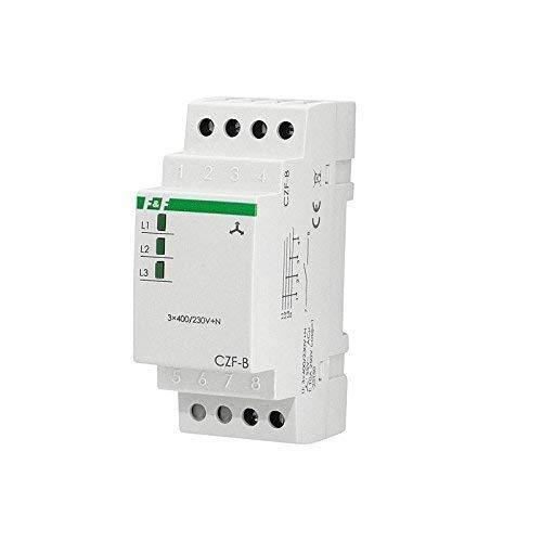 F&F CZF-B Netzüberwachung Netzüberwachungsrelais Phasenüberwachung 3-phasig (3041)