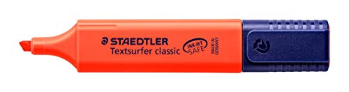 Staedtler Textsurfer Classic 364 Highlighter - Red, Pack of 10 Photo #2