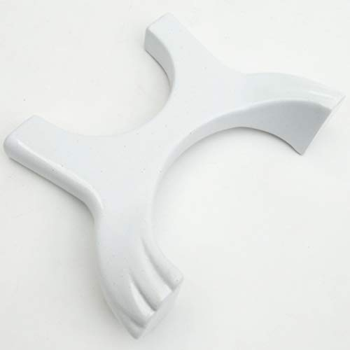Jones & Grey - Soporte de pie para radiador de columna de hierro fundido, diseño de garra blanco