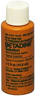Betadine Solution Antiseptic, 0.5 oz