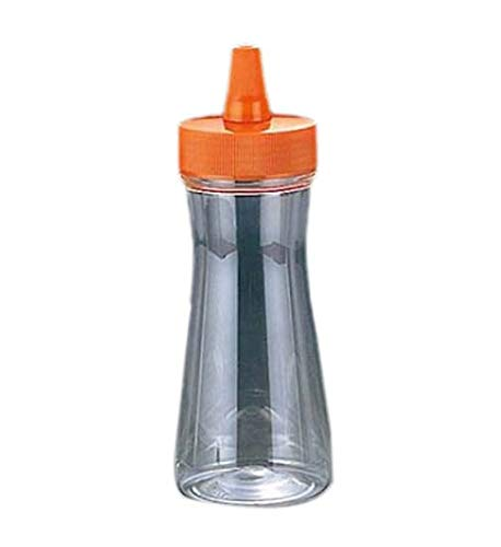 アズワン ドレッシングボトル(ネジキャップ)FTP-280 350ml オレンジ/61-6655-15
