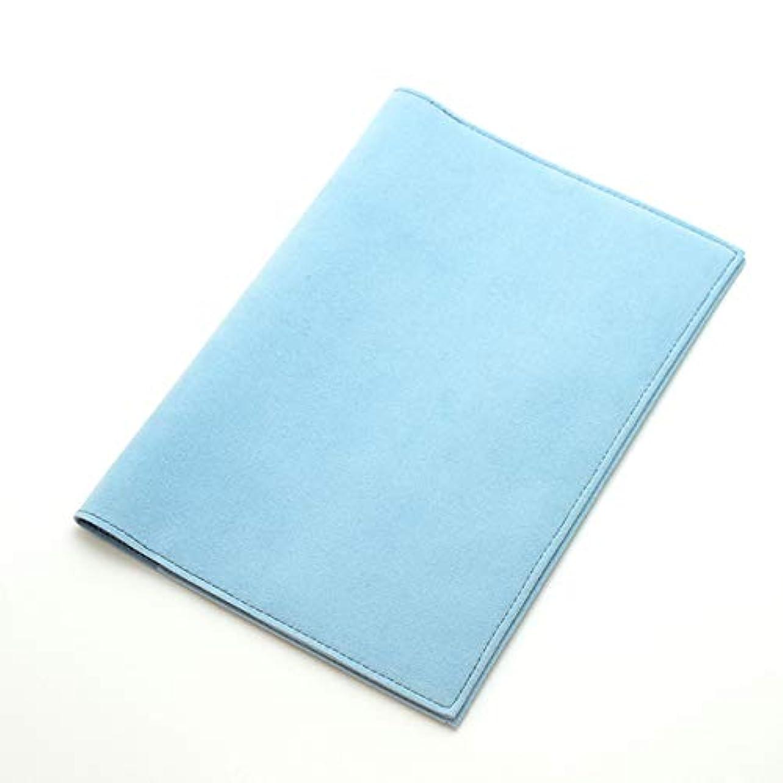 カニ引退する商人カラーチャート トラベルシリーズ A5手帳カバー スカイブルー