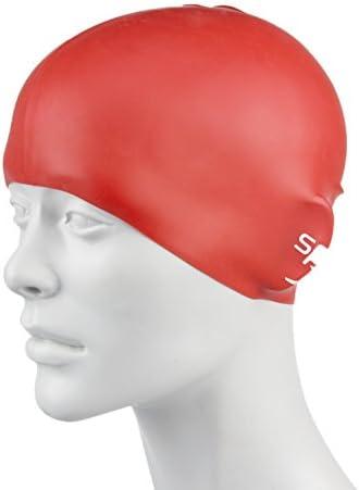 Speedo Plain Moulded Silicone Swim Cap for Juniors product image