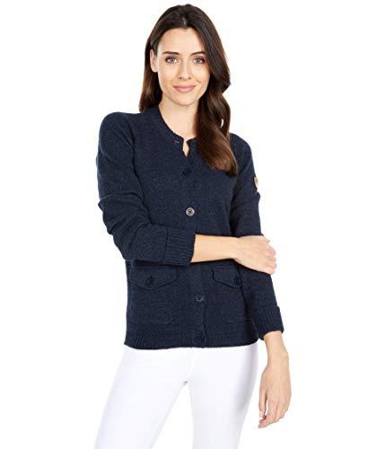 Fjällräven Damen Greenland Re-Wool Cardigan W Sweatshirt, blau, S
