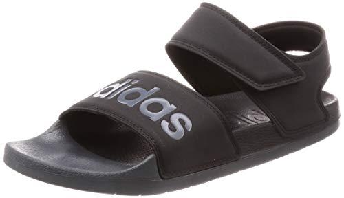 adidas Unisex-Erwachsene Adilette Sandale, Negbás/Grisei/Negbás, 32 EU