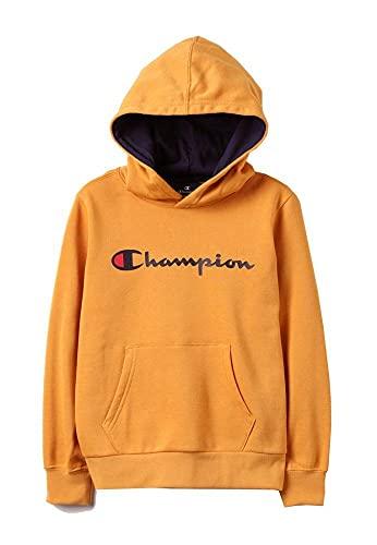 Champion Sudadera para niño., amarillo, S