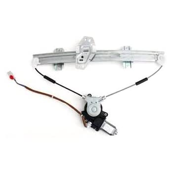 TYC 660109 Honda Accord Front Passenger Side Replacement Power Window Regulator Assembly with Motor