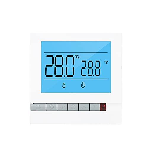 ZIEM Tuya WiFi Termostato inteligente de calefacción de agua/gas Controlador de temperatura programable compatible con Home Pantalla LCD grande con retroiluminación