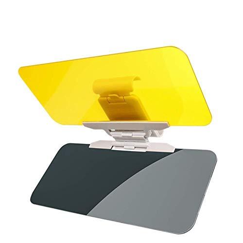 Visera Parasol Coche Degress coche Visera Día Noche Nieve 360 HD anti deslumbrante luz del sol Gafas de conducción espejo UV Fold, tapa de la opinión clara del Visor Visera Del Coche