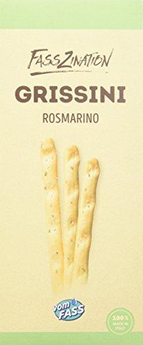 Vom Fass Grissini Rosmarino, 5er Pack (5 x 125 g)