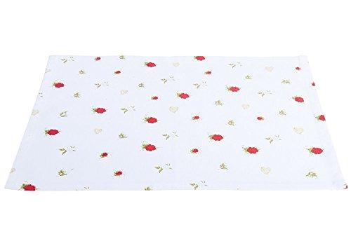 GILDE Bella Vita - Tovaglietta all'americana, motivo rose, 44 x 33 cm