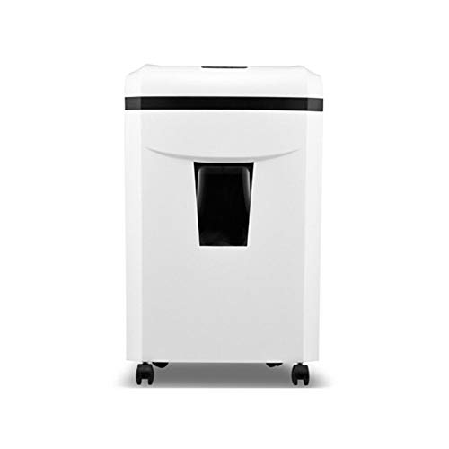 Best Review Of HXSD Medium-Sized Long-time Large-throughput Paper Shredder, Office (Color : White, S...