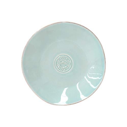 Costa Nova Colección Nova Plato Pan, 16 CM, Gres (Turquoise)