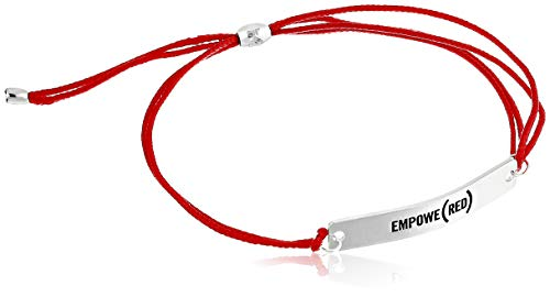 Alex and Ani Empowe(RED) Kindred Cord Bracelet