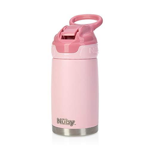 Nuby - Taza de aprendizaje Botella Rosa