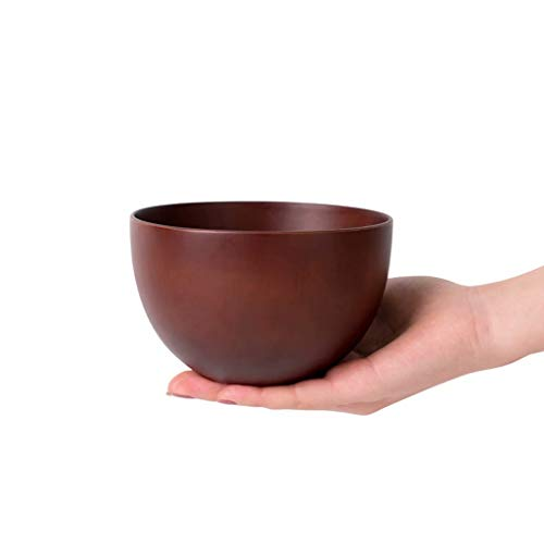 Jujube Wooden Bowl Children's Adult Rice Bowl Large Soup Bowl Home Shatter-Resistant Wood Bowl Salad Bowl