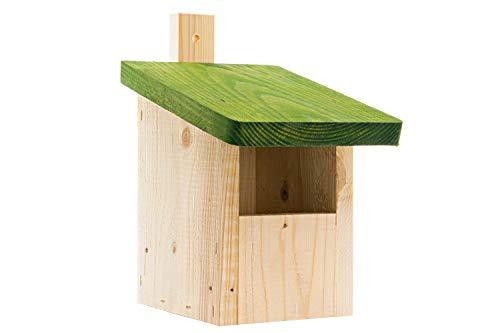 Nistkasten-Vogelhaus-Meisenkasten-Nisthohle,aus Holz Natur,wetterfest
