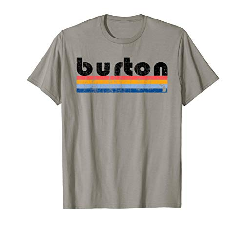 Vintage 80s Style Burton MI T-Shirt