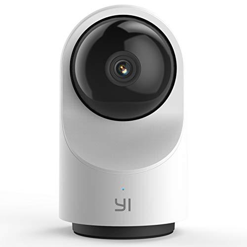 YI Telecamera Wi-Fi Interno 1080p Dome X, Smart Telecamera Sorveglianza 360°Pan-Tilt per Sicurezza,Ip Camera WiFi con Sensore di Movimento,Notifiche Push in Tempo Reale,Audio Bi-direzionale