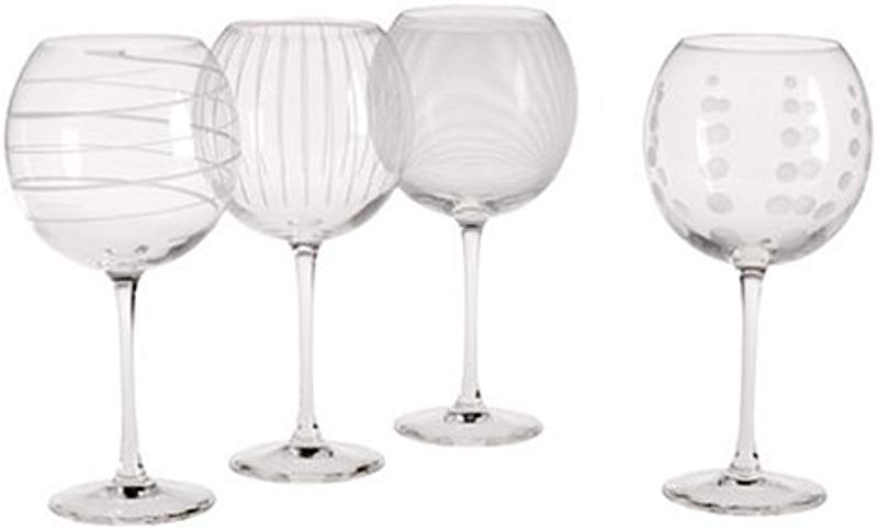 Mikasa Cheers Balloon Goblet Wine Glass 24 5 Ounce Set Of 4