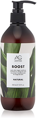 Price comparison product image AG Hair Natural Boost Conditioner,  Apple Cider Vinegar,  12 Fl Oz