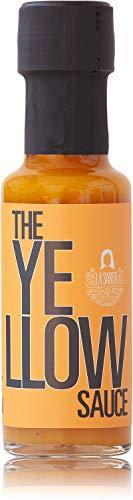 The Yellow Sauce 125 ml | Salsa picante hecha con ají amarillo, mango y piña | Sin aditivos ni conservantes | Sin gluten | Apto para veganos