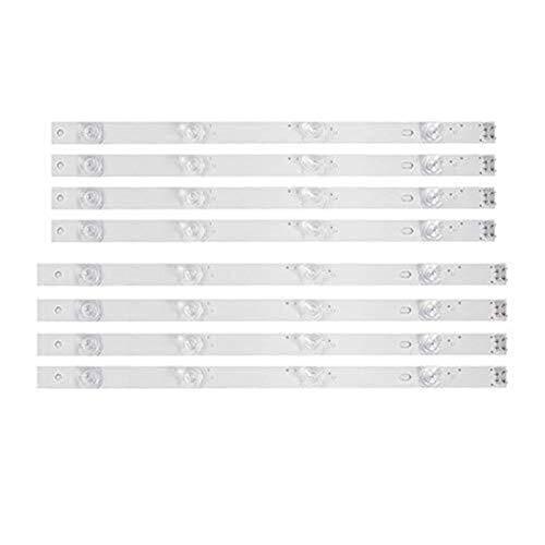 SUNXK Tira de luz de Fondo LED de 4 Bombillas for TV LG de 42 Pulgadas 42GB6310 42LB5500 42LB550V 42LB561V 42LB570V 42LB585V 42LB5800 42LB580N 42LB5700 (8 Piezas)