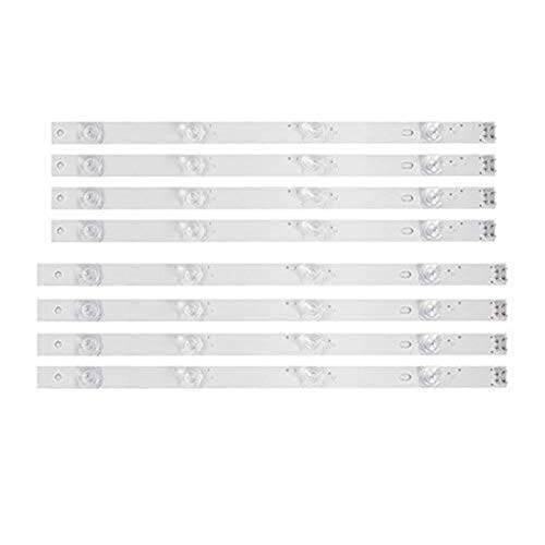 SHAND LED-Hintergrundbeleuchtung Streifen 4 Birne for LG 42-Zoll-Fernseher 42GB6310 42LB5500 42LB550V 42LB561V 42LB570V 42LB585V 42LB5800 42LB580N 42LB5700 (8 Stück) SHAND