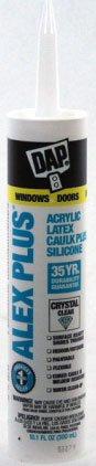 Dap 18401 10.1 Oz Crystal Clr Alex Plus Acrylic Latex Clk Plus Sil