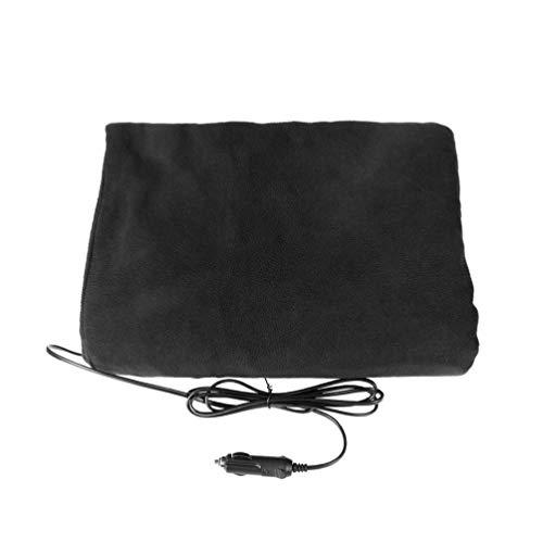 VOSAREA - Manta térmica eléctrica de algodón, 12 V, para coche, calefacción, manta de invierno, viaje, manta para camión, vehículo