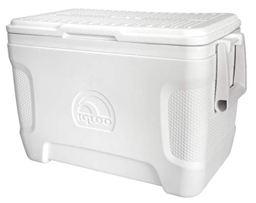 IGLOO Outdoor Marine Contour Kühlbox, Weiß, 23 Liter